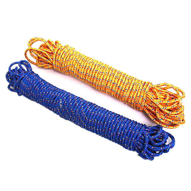 6MM Paracord 450kg load-bearing outdoor escape life Safety rope spare climbing umbrella rope high-strength nylon rope Paracord