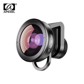 APEXEL optic phone camera lens 170 degree super wide angle lens fishye lens lente for iPhone x xs max huawei mostsmartphones