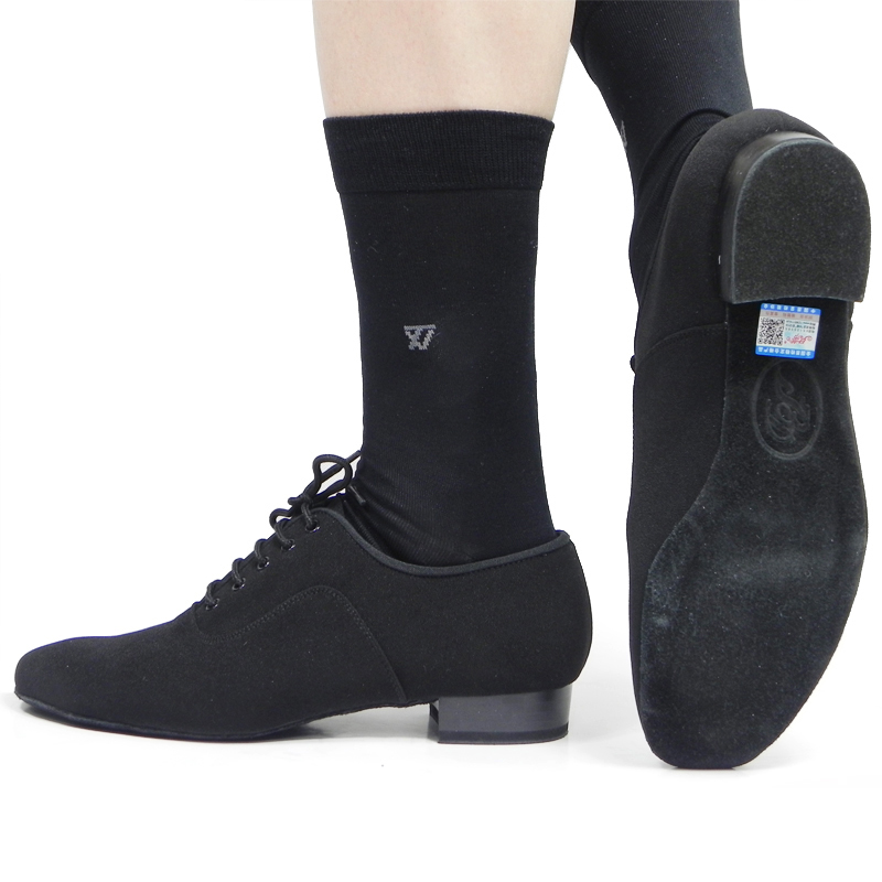 Sneakers Dance Shoes Ballroom Latin Shoes Jazz Men Shoes Oxford Cloth Soft Bottom Sports Shoe Boy Black Heel 25mm Professional genuine leather latin dance shoes male adult square dance shoes tango ballroom ballroom men shoes sports male sneakers shoes