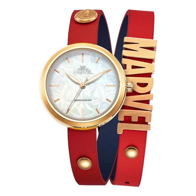 Wrist-Watch Captain Woman Bracelet Marvel Synchronous Periphery-Film Fund Surprised Hero