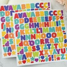 Красочные прописные буквы самоклеющиеся планировщик наклейки для скрапбукинга/поделок/открыток украшения
