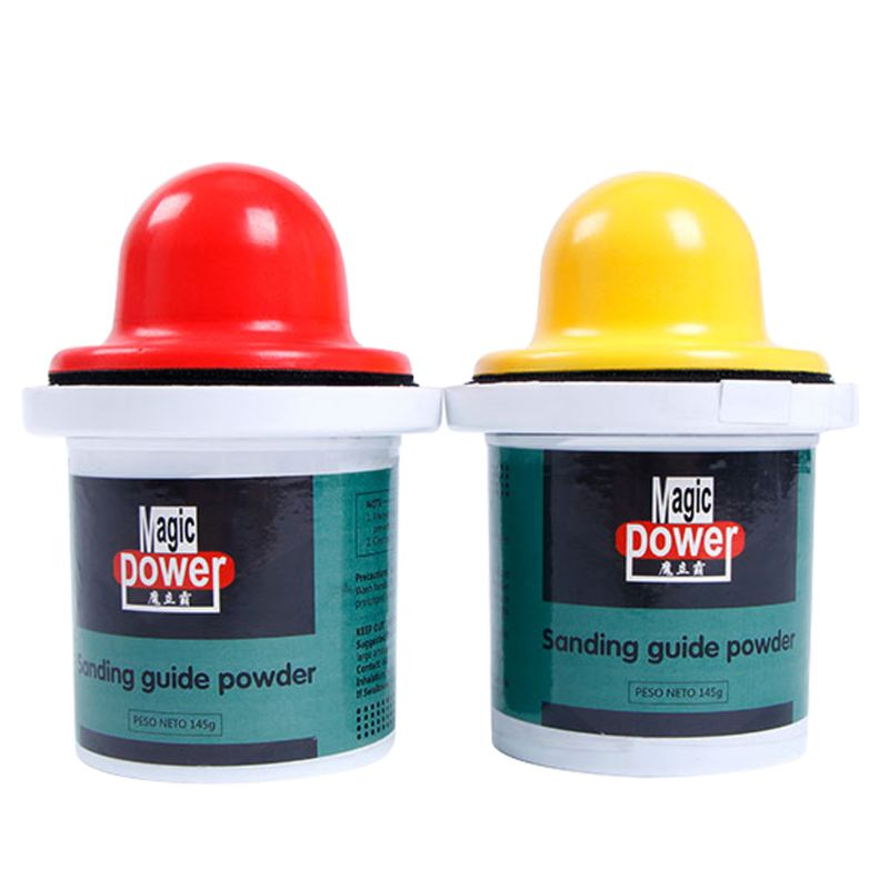 High Quality 150g Black Dry Guide Coat Powder Shows Imperfections & Scratches on Paint