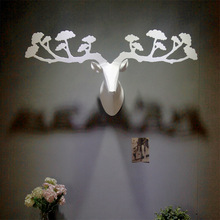 Creative Wall deer home decor,resin deer head,moose elk caribou decor,creative Nordic European Canadian Quebec wall art crafts