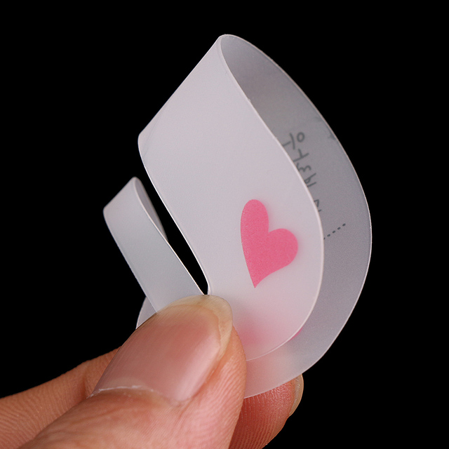 3PCS/SET New Magic Shaping Grooming Eyebrow Drawing Guide Eyebrow Stencil Card Template Assistant Toold Hot Sale 3