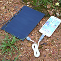 5 v 5 w painel solar painel de energia solar de carregamento folheto a5 usb carregador de casa diy para samsung mobile phone