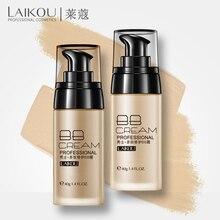 LAIKOU men Fresh And Moist Revitalizing BB Cream Makeup Face Care Whitening Compact Foundation Concealer Prevent Bask Skin