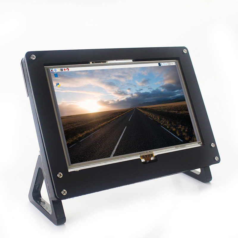 7 inch Raspberry Pi 2 3 4 Touch Screen HDMI LCD Display Monitor Acrylic case