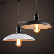 купить Nordic Industrial Pendant Lamp Retro Restaurant Cafe Corridor Hanging Pendant Lights Luminaria Bar Hanglamp Luminaire по цене 1367.76 рублей