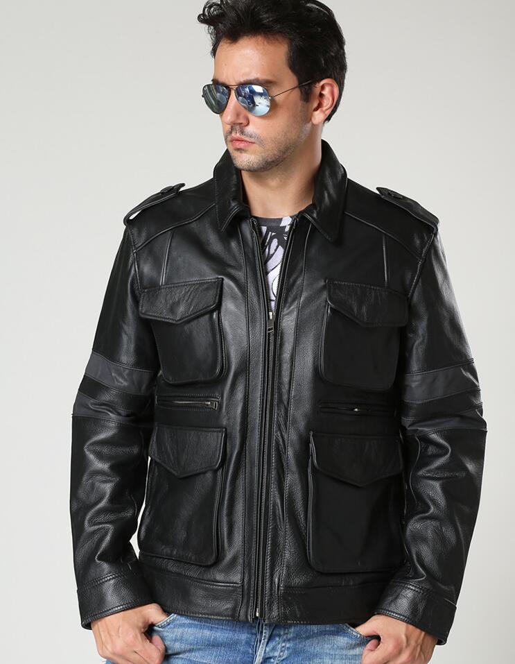 Popular Leather Jackets Short Men-Buy Cheap Leather Jackets Short