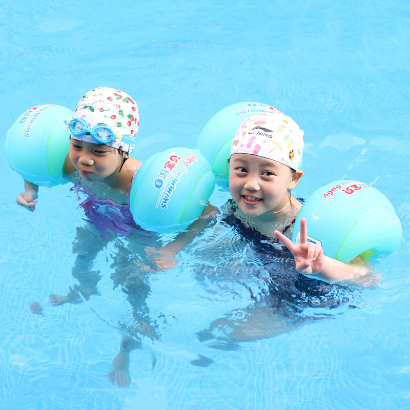 Baby Children Swim Ring Armlets Inflatable Arm Floating Swim Circle Tube Ring Trainer Swimming Pool Accessories For Children