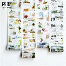 100mmX5m Collage series decorative washi tape DIY Diary Scrapbook paper washitape kawaii adhesive label sticker