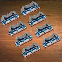 8pcs/lot Razor Blade For Men Shaving Blades Safety Blades Cassette Shaver Suit For Gillette Fusion proglide