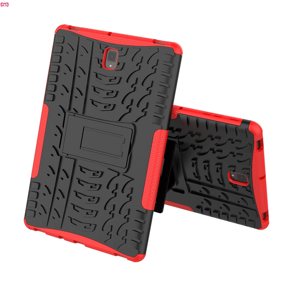 Hybrid Rugged Hard Rubber PC Stand Case Cover For Samsung Galaxy Tab S4 10.5 Shockproof And Anti-Slip Case Covers Dropship Nov.6