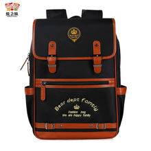 BEAR DEPT FAMILY 2017 Boys girl New High Quality School Bags Kids School Bags Backpack For