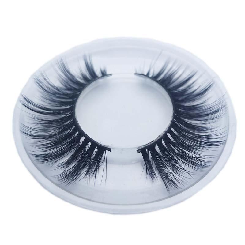 68d9e869a8f Buzzme KDS06 3D faux mink lashes natural false eyelashes long makeup eyelash  ~ Super Sale July 2019