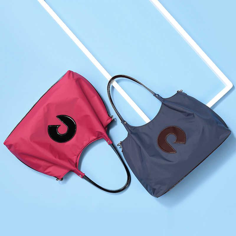 REALER, bolsos de mano para mujer, bandolera mensajero Oxford, bolsos cruzados para mujer, bolsos de mano con asa superior, Correa ancha de gran capacidad