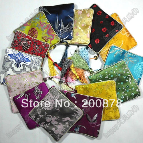 Himalayan Pouch Multi-Pack  Drawstring Pouch Bag  Coin Purse Women  Gift Pouch  Satin Patterns Gift Bag