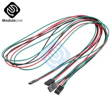 0.7M 70cm 3Pin Cable Set Female to Female Jumper Wire For Arduino 3D Printer Reprap(China)