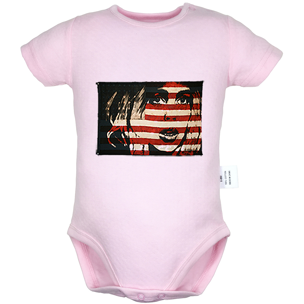 Baby Boys Childrens American Flag Lacrosse Stick Printed Long Sleeve 100/% Cotton Infants T-Shirts