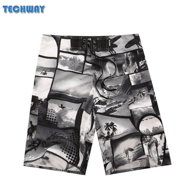 2019 New Summer Swim Wholesale New Men's Board Shorts Beach Brand Shorts Surfing Bermudas Masculina De Marca Men Boardshorts 5