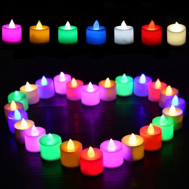 24pcs Set LED Light Candles Householed Led Battery Operated