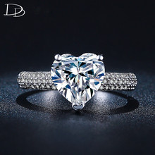 Crystal Jewelry Engagement Wedding Rings