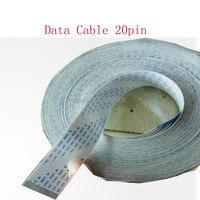 Frete grátis!!! 5 pçs/lote 20pin cabo da cabeça de impressão de qualidade superior para JHF/Gongzheng impressora de cabo plano de longo