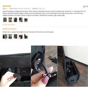 Image 5 - Everycom accesorios para proyectores, bolsa negra multifunción duradera para Xgimi h1 h2 yg300 yg400 c80 jmgo GP70 uc46 accesorios