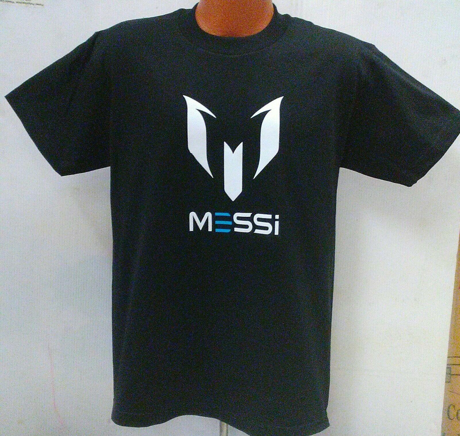 e1c8139f Lionel Messi fútbol camiseta de negro adulto Unisex Argentina