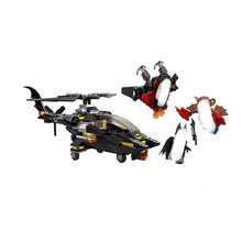 10226 185pcs Batman Helicopter Attack Super Heroes Avengers Building Block Compatible 76011 Brick Toy10226 Helicop