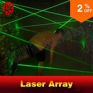 Image 2 - laser array for escape room game adventurer prop laser maze for Chamber of secrets game intresting and risking green laser game