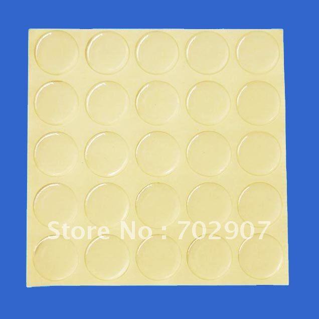 И 1000 шт 27 мм Круг прозрачная эпоксидная наклейка для изготовления ювелирных изделий DIY