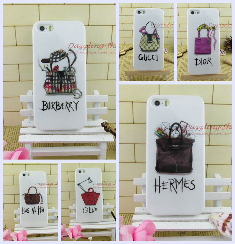 Fashion Dirt-resistant top sale soft cell phone case iphone4/4s luxury mobile bag RIP415041004 - ShenZhen DZL Trade co., LTD. store