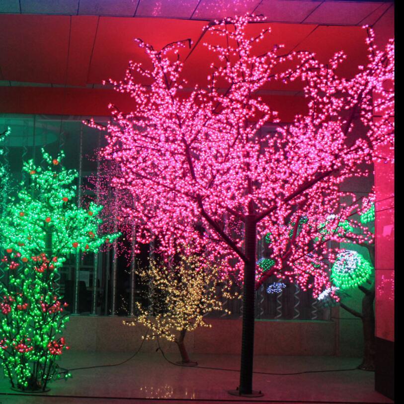 18 meter 864 leds vakantie lichten decoratie verlichting perzik bloesem boom gratis verzending voor europnoord amerika in 18 meter 864 leds vakantie