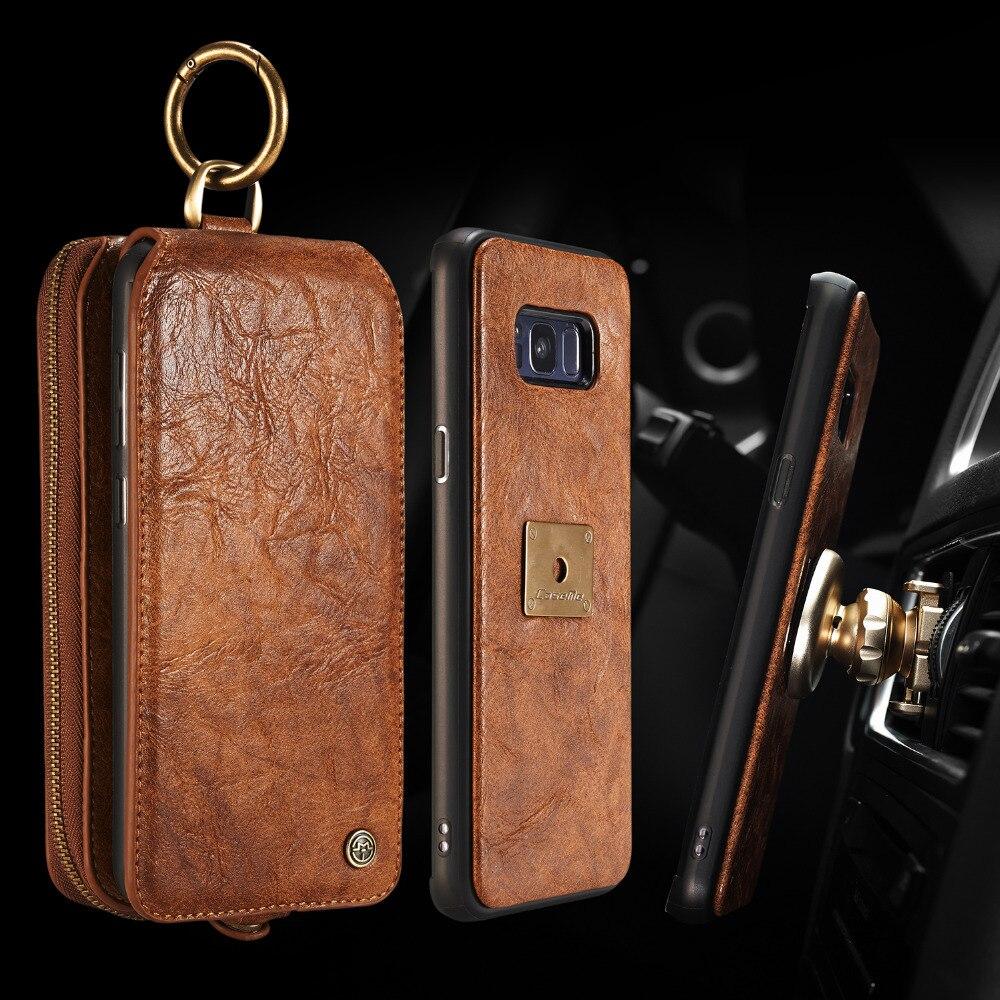 CaseMe Leather Cases for Samsung font b Galaxy b font font b S8 b font S