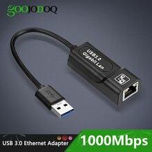 USB 3.0 2.0 / Typc C USB Rj45 Lan 이더넷 어댑터 네트워크 카드 RJ45 Lan 이더넷 어댑터 Windows 10 Macbook Xiaomi Mi PC