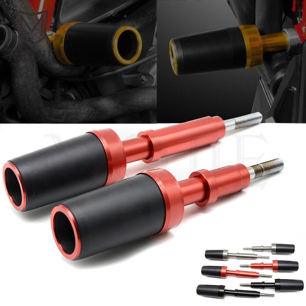 For Ducati Monster 1200 821 X DIAVEL 1200 Motorcycle CNC Aluminum Frame Slider Falling Protectors Frame