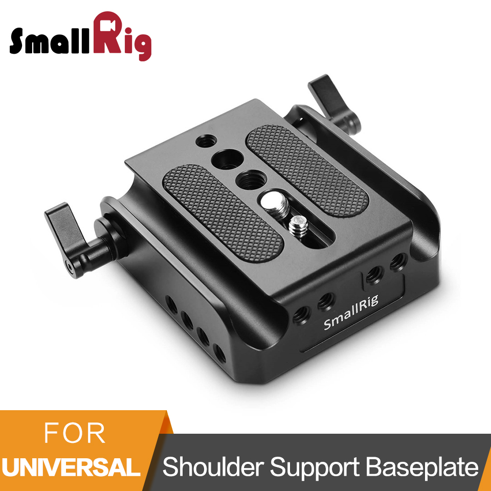 SmallRig Quick Release Dslr Camera Baseplate 15 mm Rod Clamp for Canon EOS C100 C100 Mark