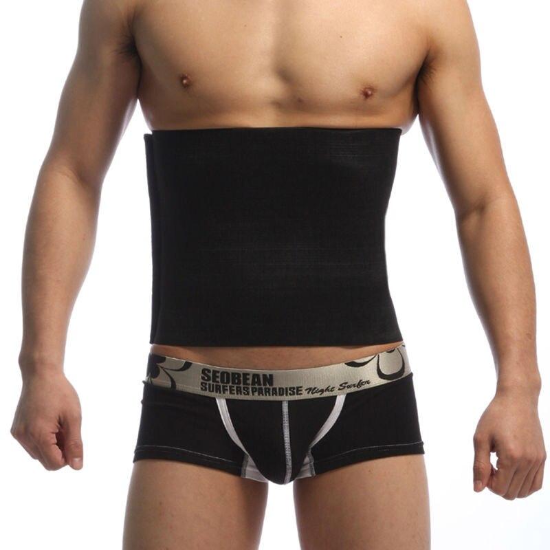 Beer Belly Cummerbunds Mens Slimming Waistband Lose Weight Belt Male Weight Loss Waistband Man Body Shaping Belts