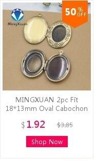 1  Medaillon in Vintage bronze für 18 x 13 mm Cabochons