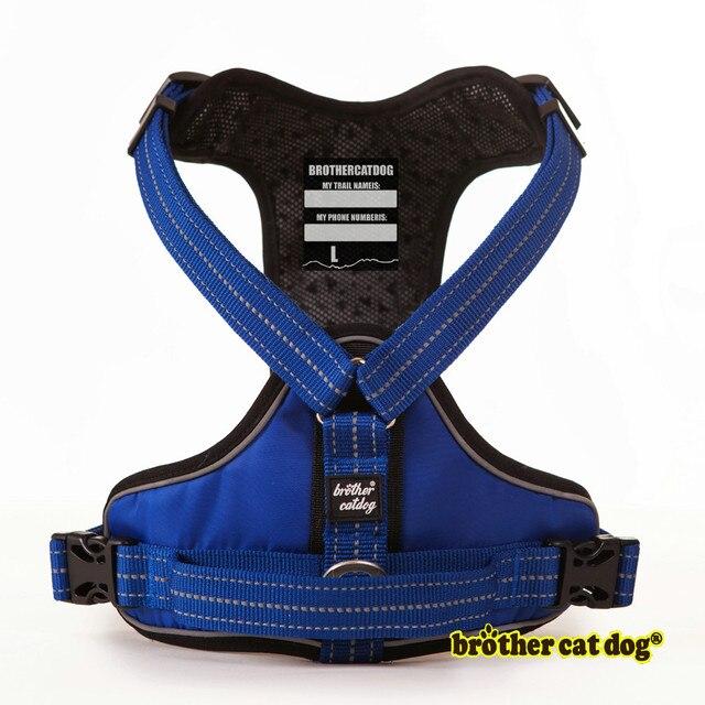 Di alta Qualità Pet Dog Harness Per Cani di Formazione Della Maglia di Medio Gra