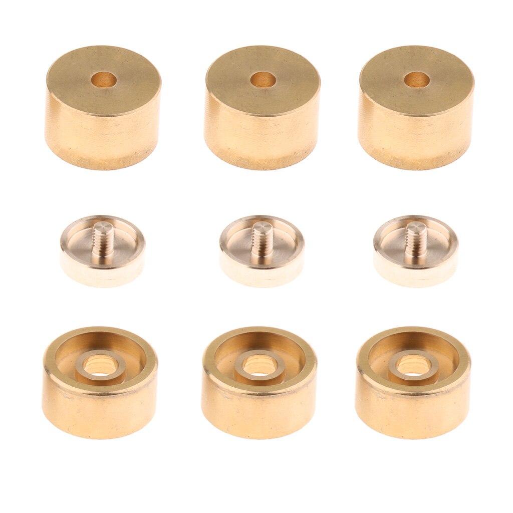 botões do dedo trompete reparação peças instrumento