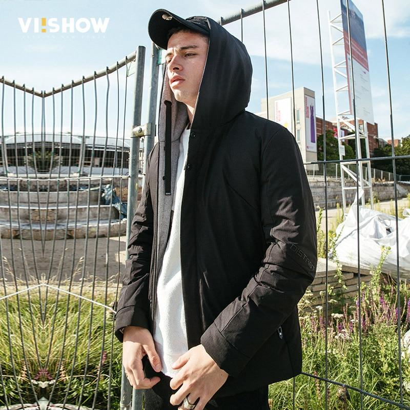 VIISHOW 2017 Winter Jacket Men Coat Fashion Duck Down Jacket With Hooded Parkas Men Coat Masculine Jacket Plus Size YC2694174