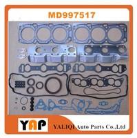 Overhaul Gasket Kit Engine FOR MITSUBISHI TRITON Pickup PAJERO V23W V33 V43 6G72 3.0L V6 12V MD997517 1992 1997