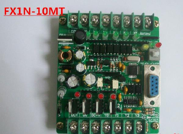Free Shipping!!! PLC Control Board stepper motor controller solenoid valve Contactor drive FX1N-10MT module