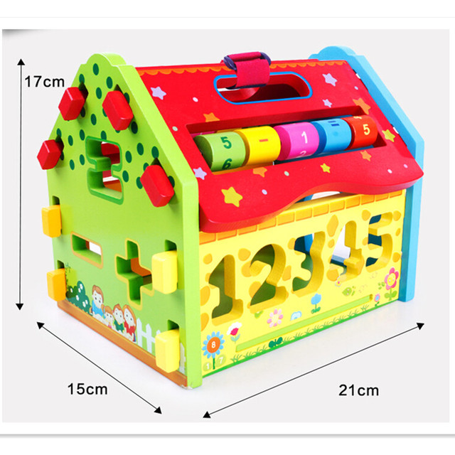 New Design Interesting Montessori Educational Toy Math Toy for Baby Kid's Gift, 2 Style Novelty Educational Game Wooden Toys