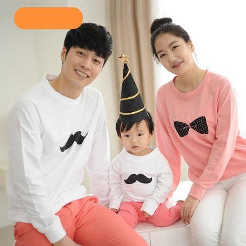 Family Set Long Sleeve T-shirts Family Clothes for father and son Clothes for Mother and Daughter Children Clothing Autumn, YR97