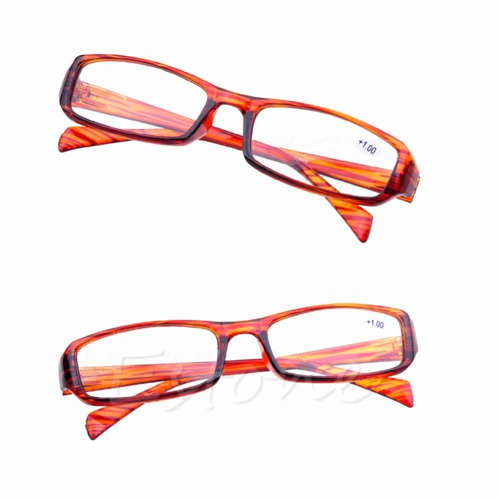 1 pc อ่านหนังสือแว่นตาเรซิ่นใหม่อ่านหนังสือสายตายาวสายตายาว + 1.00 1.50 2.00 2.50 3.00 3.50 4.00 Diopter