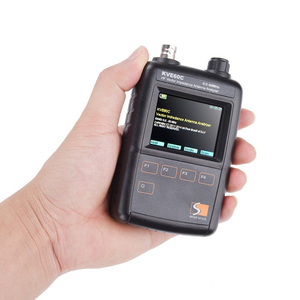 Image 5 - New HF Vector Impedance Antenna Analyzer KVE60C 0.5MHz   60MHz for walkie talkie