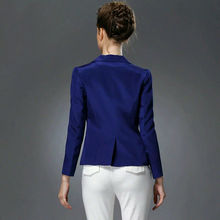 100% pure REAL SILK women SOLID white high quality OFFICE LADY feminino BLAZER JACKET blaser work suit 2015 SPRING new